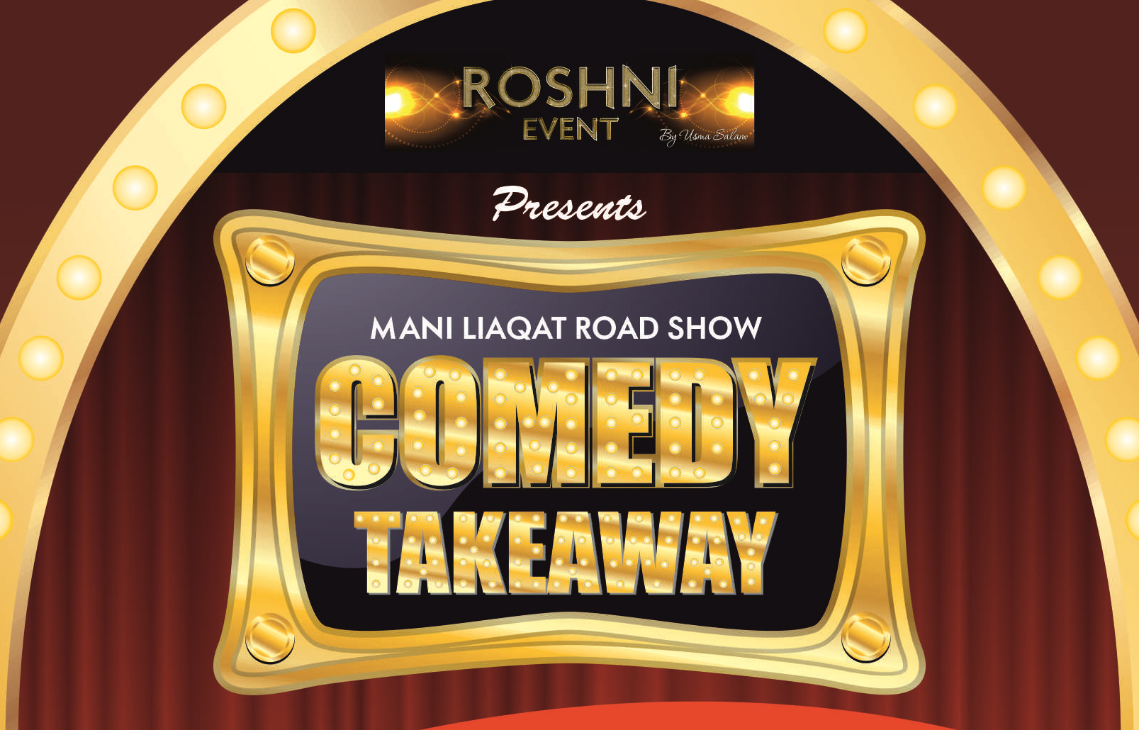 Mani Liaqat's Comedy Takeaway Road Show - Z-arts