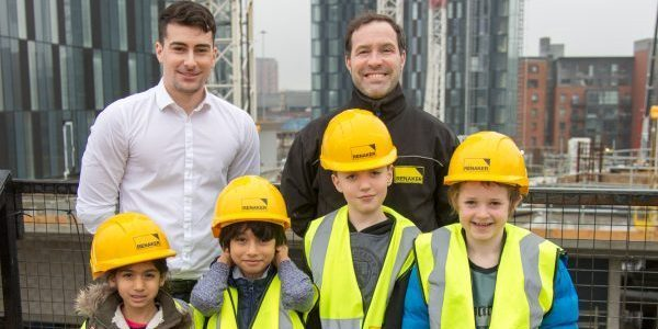 Picture of Young people on Renaker development viewing platform