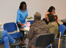 Picture of over 50s eating a meal