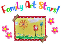 Family Art Stars lead image - photo of Spring Printing Artwork